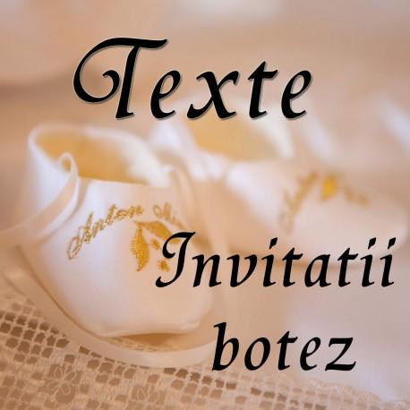Texte Botez
