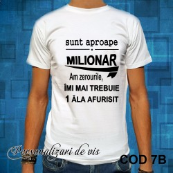 Tricou MILIONAR